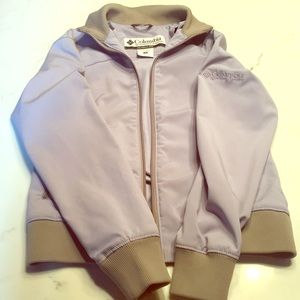 Columbia Sports Wear light purple spring coat